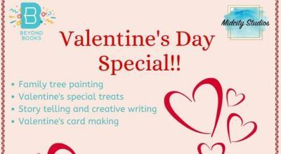 Valentine's Day Workshop for Kids!