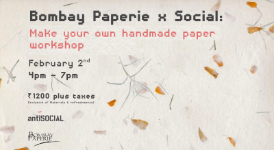 Make your Own Handmade Paper | Bombay Paperie x antiSOCIAL
