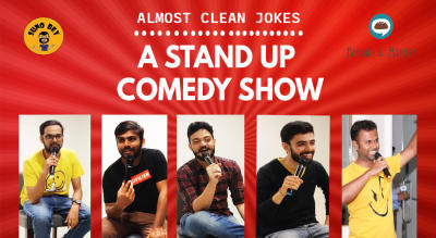Almost Clean Jokes - A Standup Comedy Show