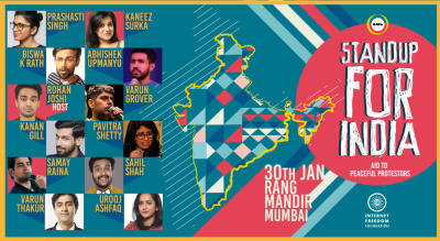 Stand Up for India – A Charity Show