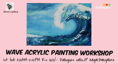 Wave Acrylic Painting Workshop