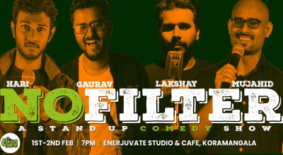 #NOFILTER - A stand-up comedy show