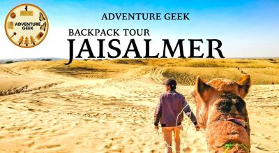 Jaisalmer Desert Safari: with Swiss Tent Stay
