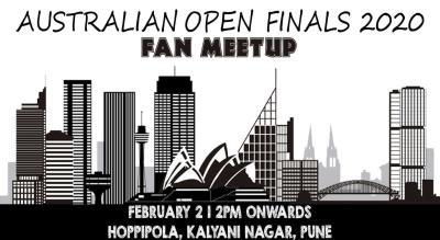 Fan Meet: Australian Open Finals 2020 At Hoppipola Pune, Kalyani Nagar