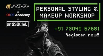 MY GLAMM X DICE X antiSOCIAL - Styling & Makeup Workshop