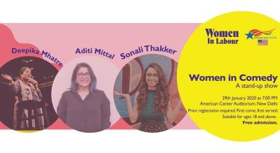 Women in Labour presents Women in Comedy