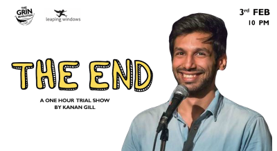 Grin Revolution: The End w/ Kanan Gill