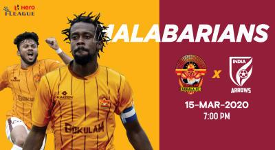 Hero I League 2019-20: Gokulam Kerala FC vs Indian Arrorws
