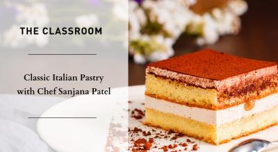 Classic Italian Pastry with Chef Sanjana Patel