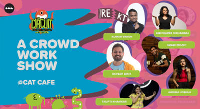 A Crowdwork Show | The Circuit Comedy Festival, Mumbai