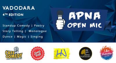 Apna Open Mic (Vadodara - 4th Edition)