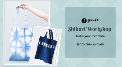 Shibori Workshop on Tote Bags by Anisha Khiyani