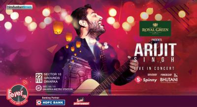 Arijit Singh Live in Delhi
