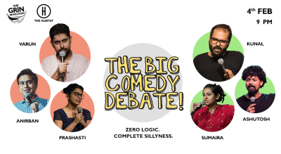 Grin Revolution: The Big Comedy Debate!