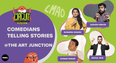 Comedians Telling Stories | The Circuit Comedy Festival, Mumbai