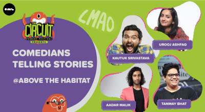 Comedians Telling Stories ft. Tanmay, Aadar, Urooj & Kautuk | The Circuit Comedy Festival, Mumbai