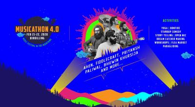 Musicathon Bir  - A music festival in the mountains