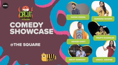 Comedy Showcase   The Circuit Comedy Festival