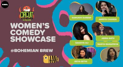 Women's Comedy Showcase | The Circuit Comedy Festival, Mumbai