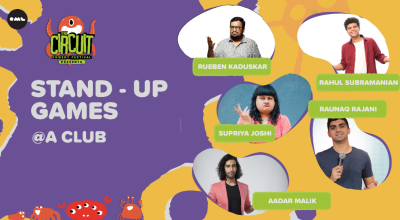 Stand-up Games Round 2 | The Circuit Comedy Festival, Mumbai