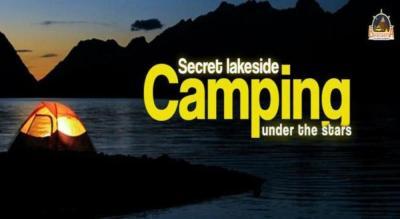 Secret Lakeside Camping
