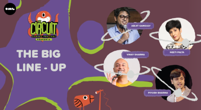 The Big Lineup | The Circuit Comedy Festival, Mumbai @ The Square