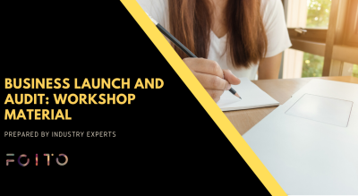 Business Launch and Audit: Workshop Material