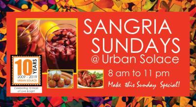 Sangria Sundays @ Urban Solace