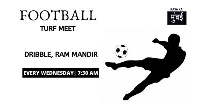 Turf Football At Dribble Football Ground Ram Mandir