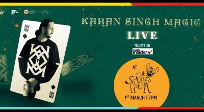 Karan Singh Magic : L!VE 2020 : CHENNAI