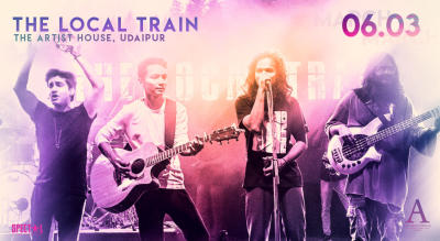 The Local Train Live at The Artist House, Udaipur