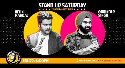 Stand Up Comedy Saturday at Playground Studio
