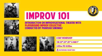 Improv 101: Introduction to Improv