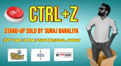 Cltr+Z by Suraj Baraliya : Live in Surat