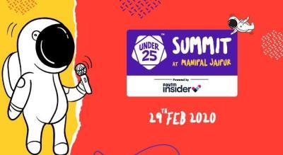 Under 25 Summit at Manipal University | Jaipur