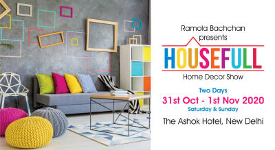 HouseFull 2020 - Home Decor Exhibition by Ramola Bachchan