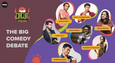 The Big Comedy Debate ft. Kanan Gill, Naveen Richard and more | The Circuit Comedy Festival, Mumbai