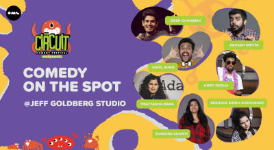 Comedy On The Spot | The Circuit Comedy Festival, Mumbai