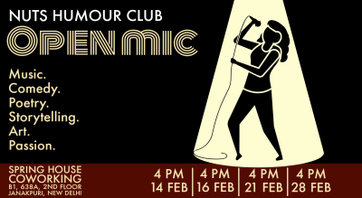 Open Mic| Nuts Humour Club
