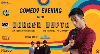Comedy Evening With Akash Gupta at Aatmatrisha 2020