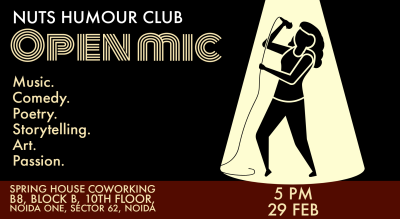 Open Mic | Nuts Humour Club