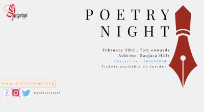 Gulzariyat's Open Mic Night - Hyderabad Chapter