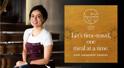 Table Stories with Chef Amninder Sandhu