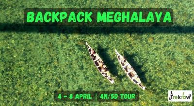 Backpack Meghalaya