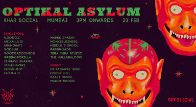 Optikal Asylum (Mumbai) | Contemporary Visual Arts Showcase