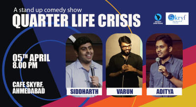 Quarter Life Crisis- A Stand up Comedy Show