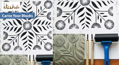 Carve Your Blocks (Lino Printing)