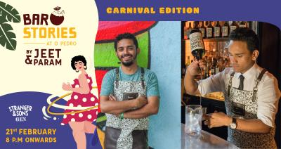 Bar Stories - Carnival Edition with Stranger & Sons
