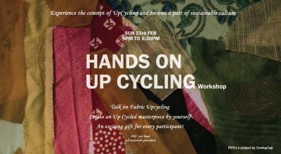 Hands On Up Cycling Workshop