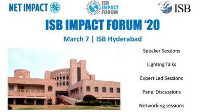 ISB Impact Forum 2020